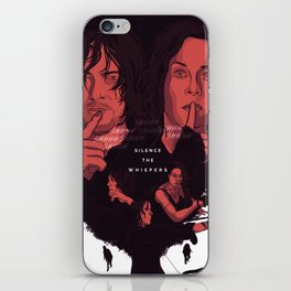TWD Silence the Whispers iPhone Skin
