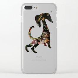 Dog II Jacob's 1968 fashion Paris Clear iPhone Case