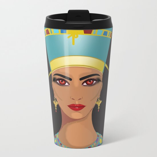 Nefertari Metal Travel Mug