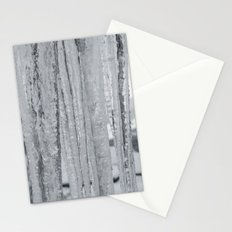 Snow Landscape Through Ice Stationery Cards