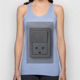 Smiling Power Outlet Unisex Tank Top