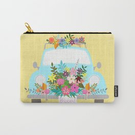 Bloom Where You Are Planted Carry-All Pouch
