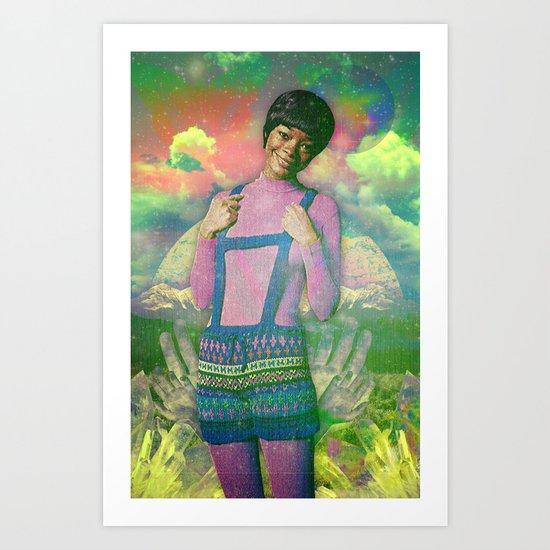 Sugga Momma Art Print
