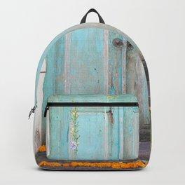 Turquoise Door Backpack