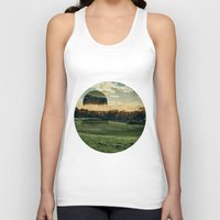 jelly fish Tank Tops featuring Jelly Fish Fields by Kevin Richetelli