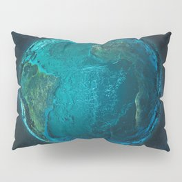 Globe: Relief Atlantic Pillow Sham