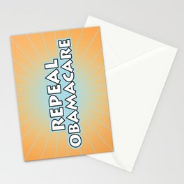 Repeal Obamacare Stationery Cards