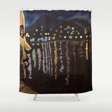 Chill... Lagoon Shower Curtain