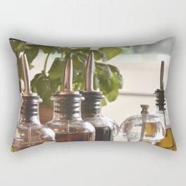 Olive and basilicum Rectangular Pillow