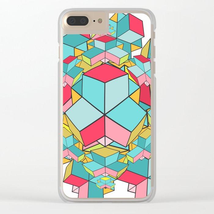geometrix Clear iPhone Case
