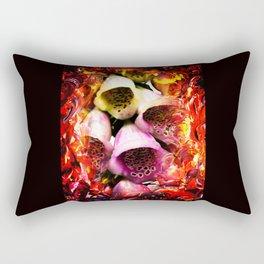 Abstract Perfection - Bellflower Rectangular Pillow