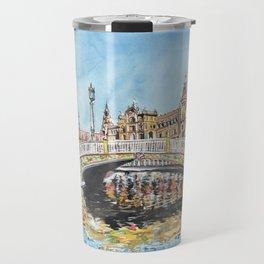 Seville, Spain Travel Mug