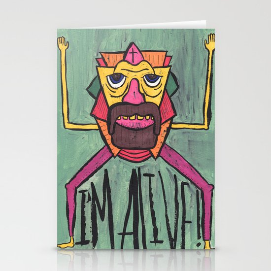 HE LIVES! Stationery Cards