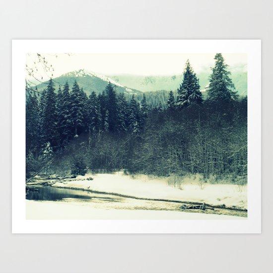 Between Storms Art Print