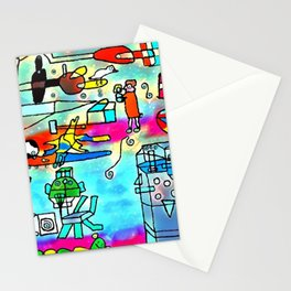 Yards and laboratories Stationery Cards