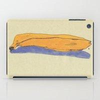 banana iPad Cases featuring banana by Maybe Mary
