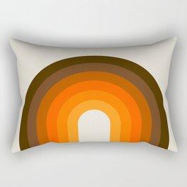 Golden Rainbow Rectangular Pillow