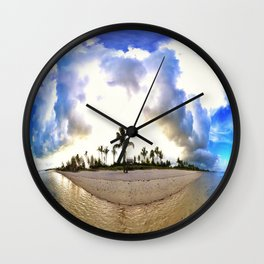 Storms 'a Brewin Wall Clock