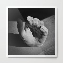 Hand Metal Print