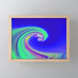 """Angry Ocean"" Photograph Framed Mini Art Print"