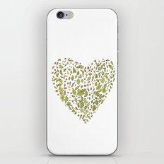Nature heart iPhone & iPod Skin