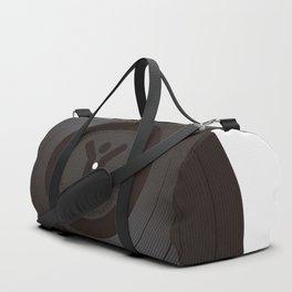 Black Vinyl record Duffle Bag