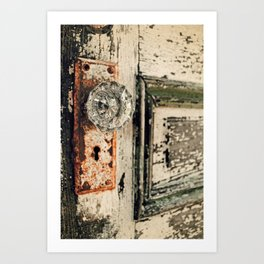 Waterford Door Art Print