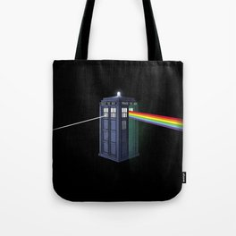 The Dark Side of the Booth Tote Bag