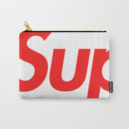 Supreme Red Letters Carry-All Pouch