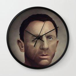 Daniel Craig Wall Clock