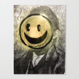 VG SMILIE Canvas Print