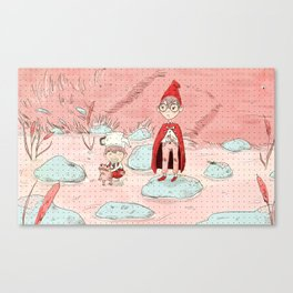 wirt and greg from over the garden wall Canvas Print