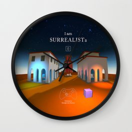 SURREALISTa Wall Clock