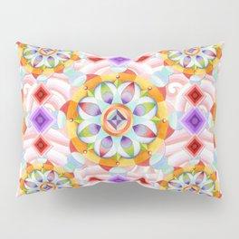 Beaux Arts Pink Waves Pillow Sham