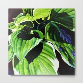 forest of betel leaf Metal Print
