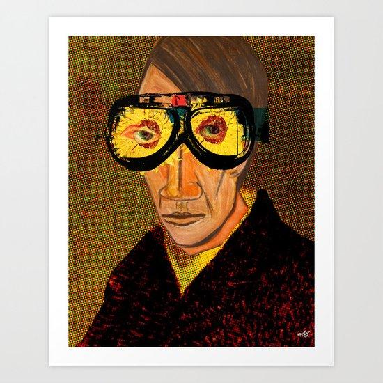 Pablo van Gogh 2 Art Print