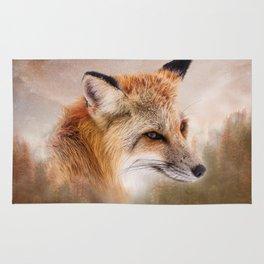 Fox in the wild Rug