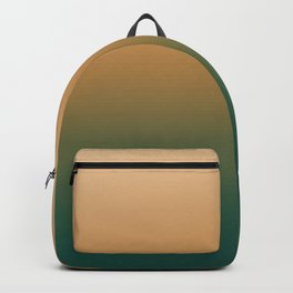 Gold and Green Gradient Backpack