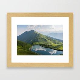 Kleinwalsertal Framed Art Print