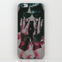 mia wallace iPhone & iPod Skins featuring Mia by Robotic Ewe