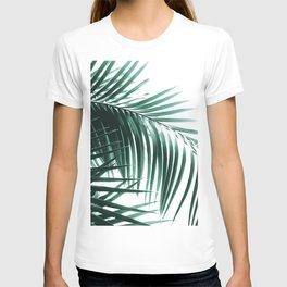 Palm Leaves Green Vibes #8 #tropical #decor #art #society6 T-shirt