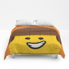 Brick Builder Comforters