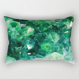 Lucky Jewels Rectangular Pillow