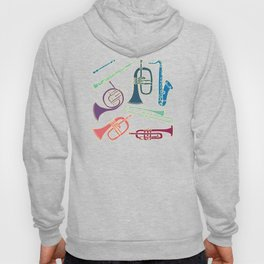Wind instruments Hoody