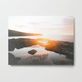 Boat Harbour Sunrise Metal Print
