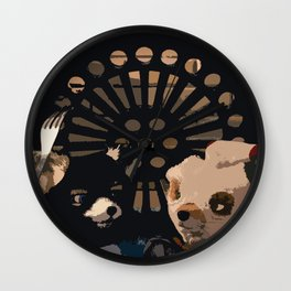 The Fantastic Heist  Wall Clock