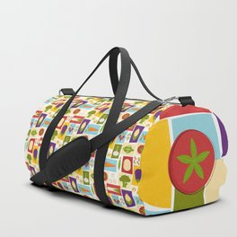 Farm to Table_pattern Duffle Bag