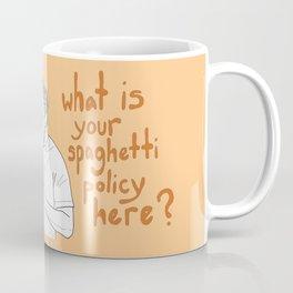 Charlie Kelly - Spaghetti Policy Coffee Mug