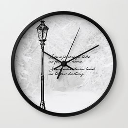 Chronicles of Narnia - Some adventures - CS Lewis Wall Clock