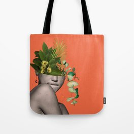 LADY FLOWERS XII Tote Bag